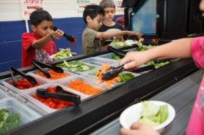 Coming soon to a school near you: Salad Bars!